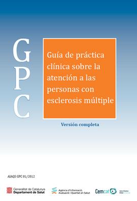 Guía de práctica clínica sobre la atención a las personas con EM