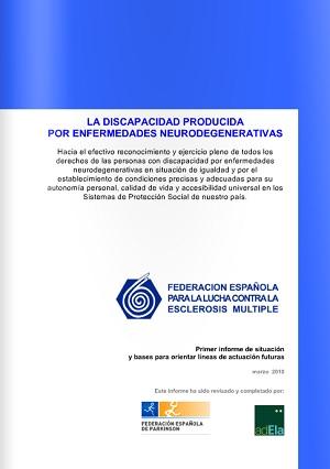 La discapacidad producida por enfermedades neurodegenerativas