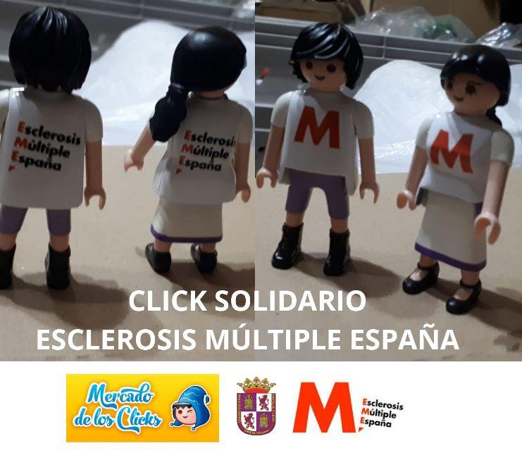 El click solidario de la Esclerosis Múltiple conquista Ermua