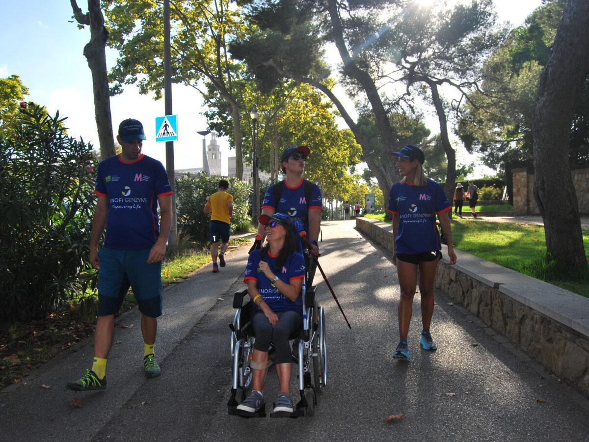 Más de 700 kilómetros para sensibilizar sobre la Esclerosis Múltiple Primaria Progresiva