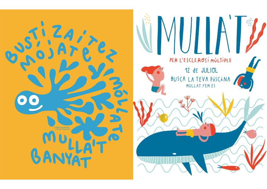 La próxima edición de 'Mójate por la Esclerosis Múltiple' ya tiene imagen