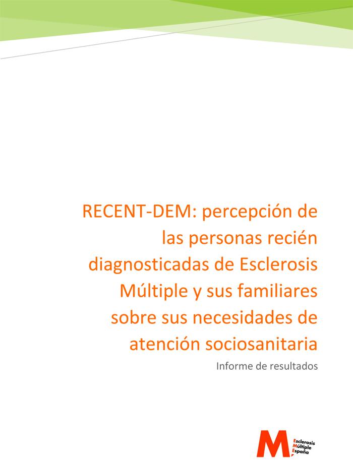 Informe #RECENT_DEM: Personas con Esclerosis Múltiple esperan su diagnóstico una media de dos años