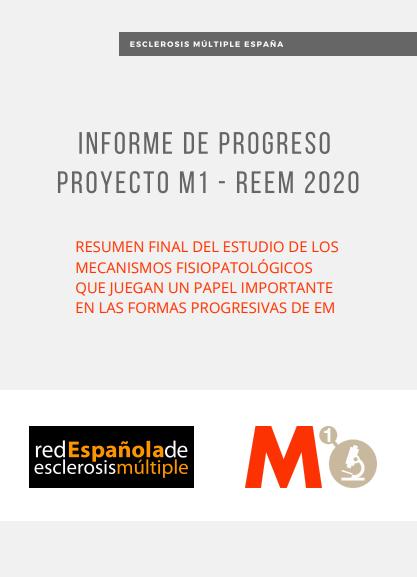 Informe de Progreso Proyecto M1 - REEM 2020