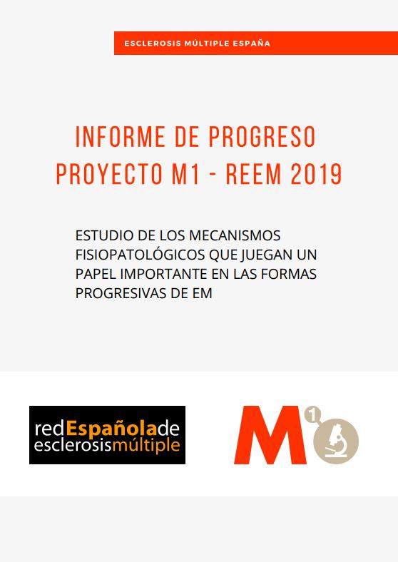 Informe de Progreso Proyecto M1 - REEM 2019