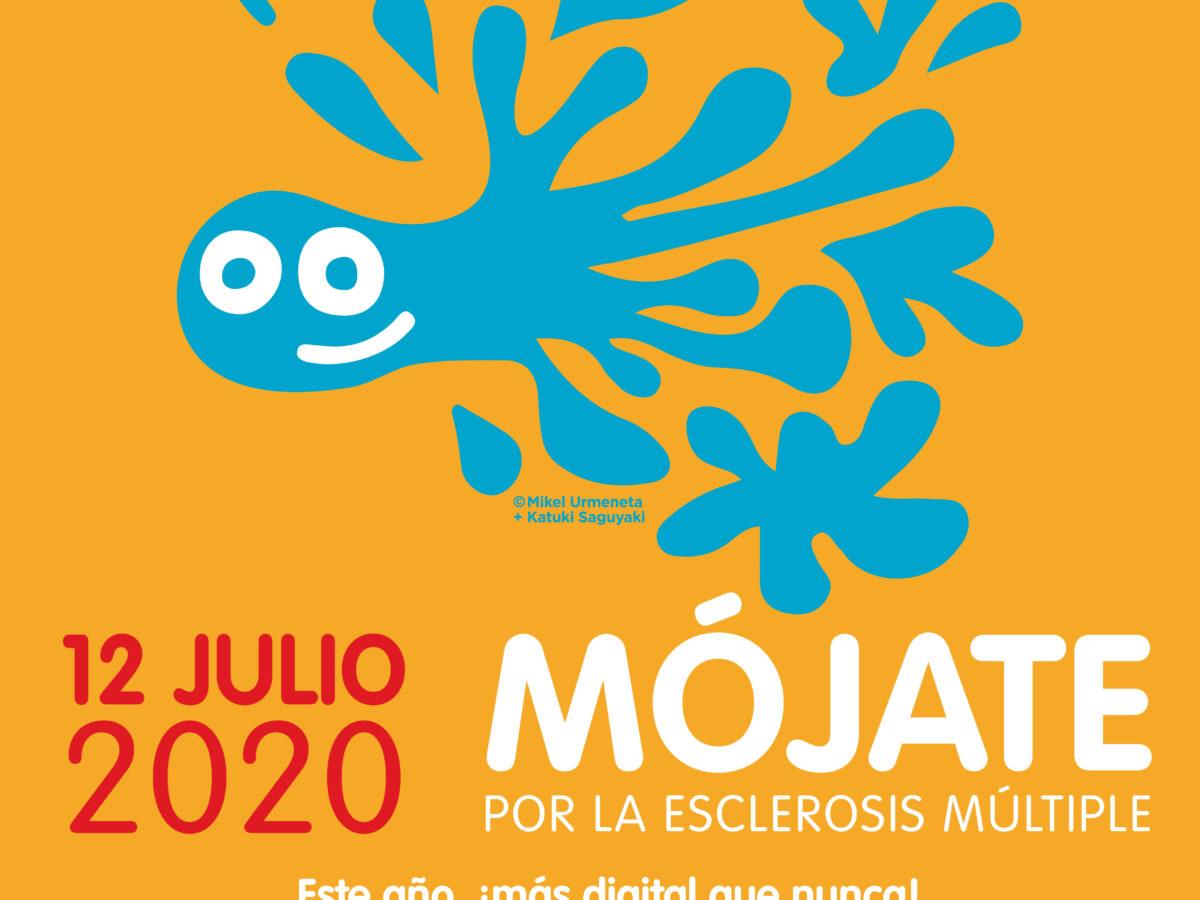 Se acerca el 'Mójate por la Esclerosis Múltiple' más digital