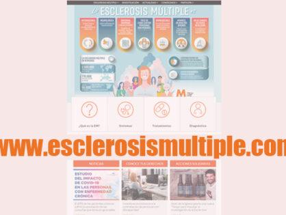 Más información, y mejor, en la nueva web de Esclerosis Múltiple España