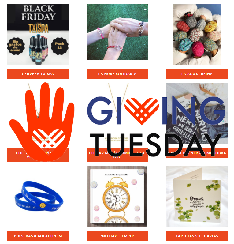 Tras el Black Friday solidario llega el Giving Tuesday por las personas con Esclerosis Múltiple