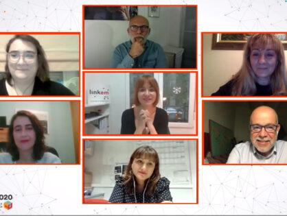 La primera edición virtual de 'Link EM: saber, conectar e innovar en Esclerosis Múltiple' pone de relieve el valor de las Asociaciones