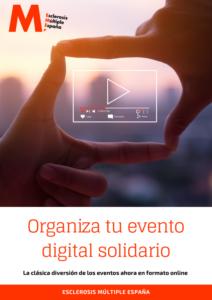 Portada de la guía para organizar eventos solidarios online