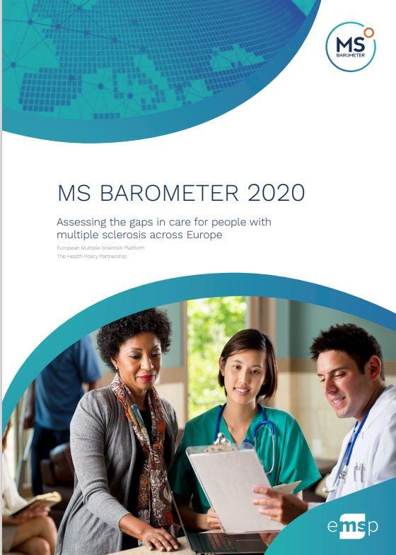 Barómetro europeo de la Esclerosis Múltiple 2020